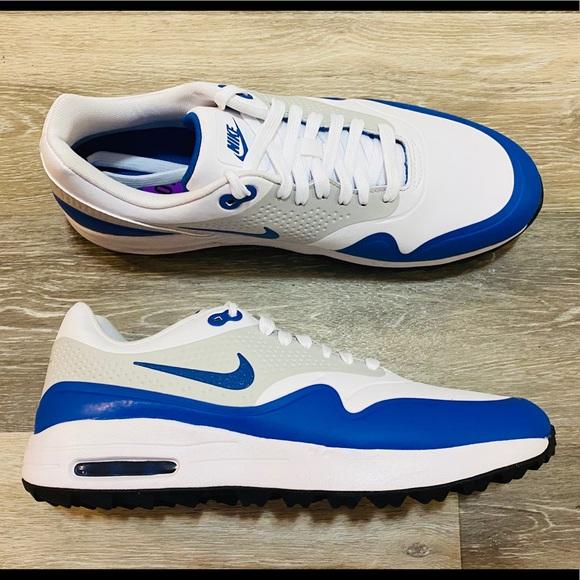 Golf White Blue Grey Golf Shoes   Poshmark